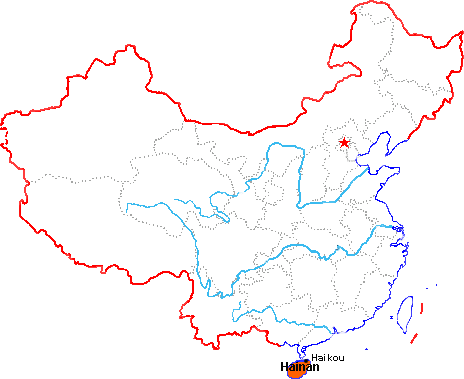 Haikou Location