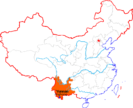 Jinghong in China