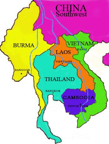 Map Of China And Southeast Asia.City Map China Travel Tools