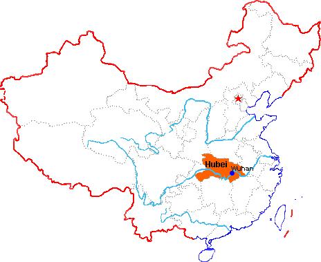 wuhan mapChina travel tools
