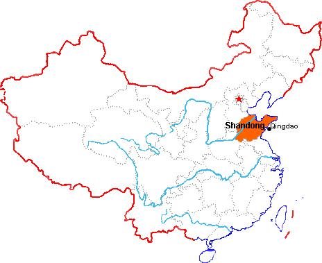 qingdao mapChina travel tools